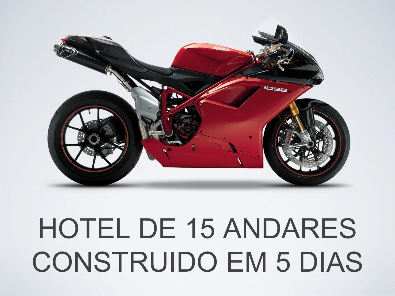 HOTEL DE 15 ANDARES CONSTRUIDO EM 5 DIAS