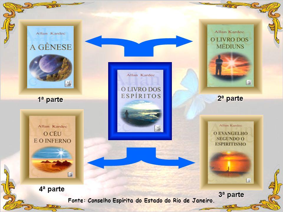 Parte Segunda (Mundo espírita) Cap.6-11 Núcleo Central: Parte Primeira - Causas Primárias – cap.1-4.