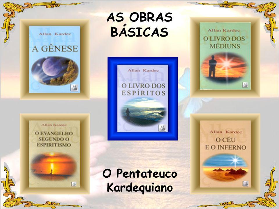 LANÇAMENTO DAS OBRAS BÁSICAS 1.O Livro dos Espíritos 2.