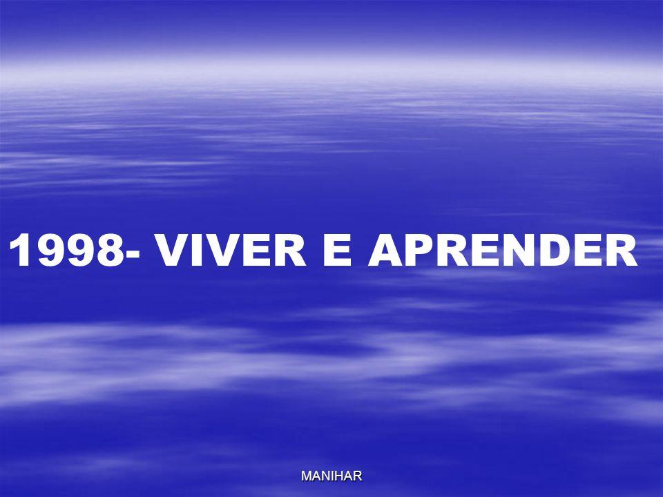 MANIHAR 1998- VIVER E APRENDER