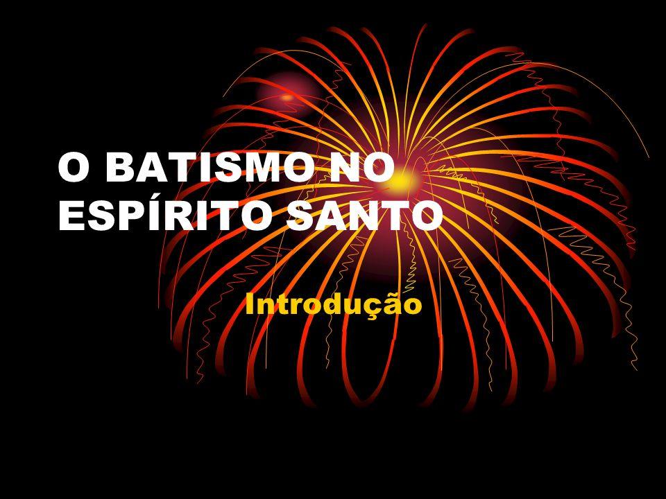 O batismo no (ou com) Espirito Santo é um mandamento bíblico Lc 24:49; At 1:1-5, assim como permanecer cheio do Espírito Ef 5:15.