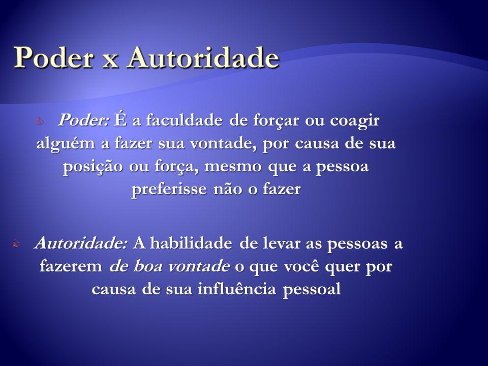 ...o papel do líder não é impor regras e dar ordens à camada seguinte.