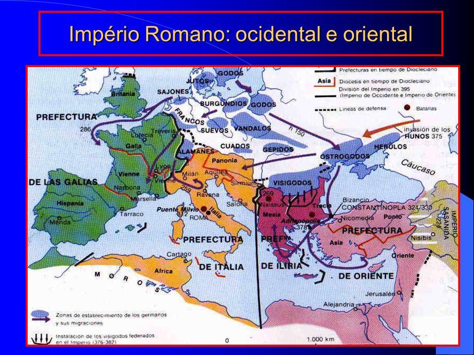 Império Romano durante o Saque de Roma por Alarico