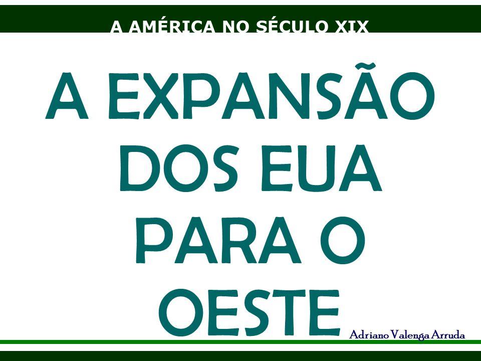 A AMÉRICA NO SÉCULO XIX Adriano Valenga Arruda A EXPANSÃO DOS EUA PARA O OESTE