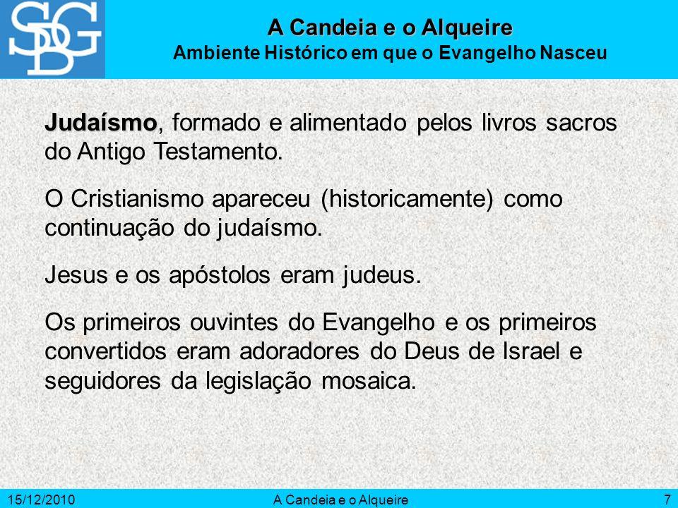 15/12/2010A Candeia e o Alqueire18 A Candeia e o Alqueire Bibliografia Consultada BATTAGLIA, 0.