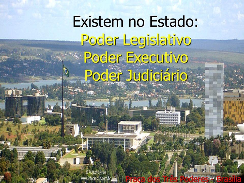 Existem no Estado: Poder Legislativo Poder Executivo Poder Judiciario Existem no Estado: Poder Legislativo Poder Executivo Poder Judiciário Praça dos