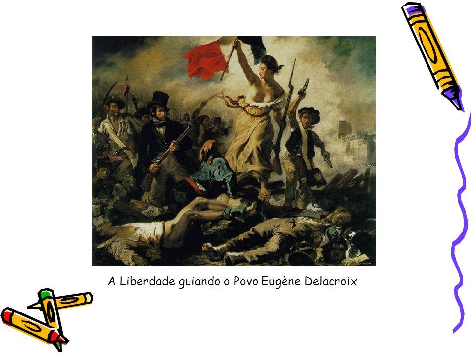 A Liberdade guiando o Povo Eugène Delacroix