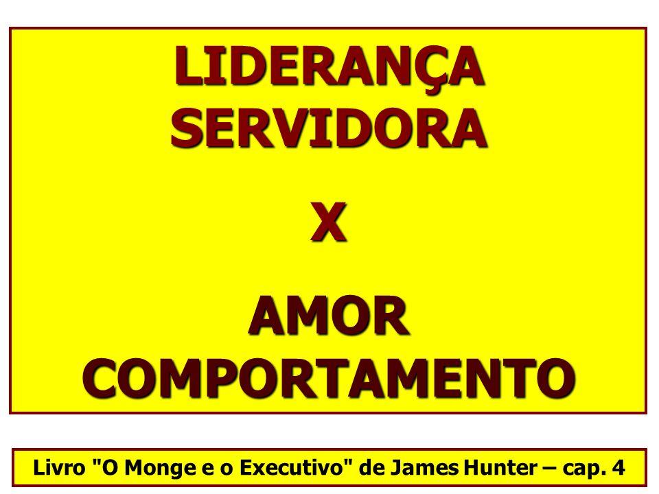 LIDERANÇA SERVIDORA X AMOR COMPORTAMENTO Livro