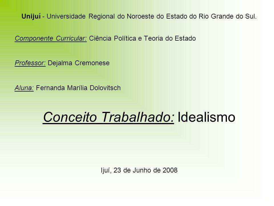 Unijuí - Universidade Regional do Noroeste do Estado do Rio Grande do Sul.