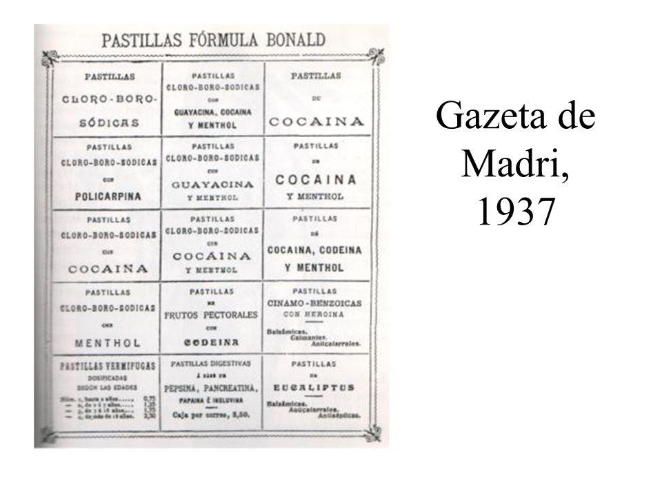 Gazeta de Madri, 1937