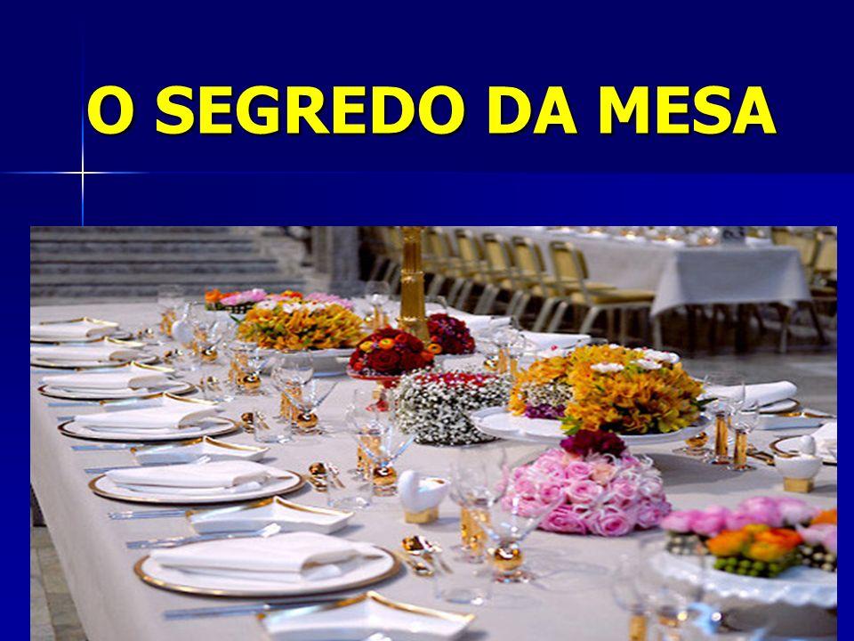 Versículos sobre a mesa: Farás uma mesa......( Ex 25: 23a ) Farás uma mesa......