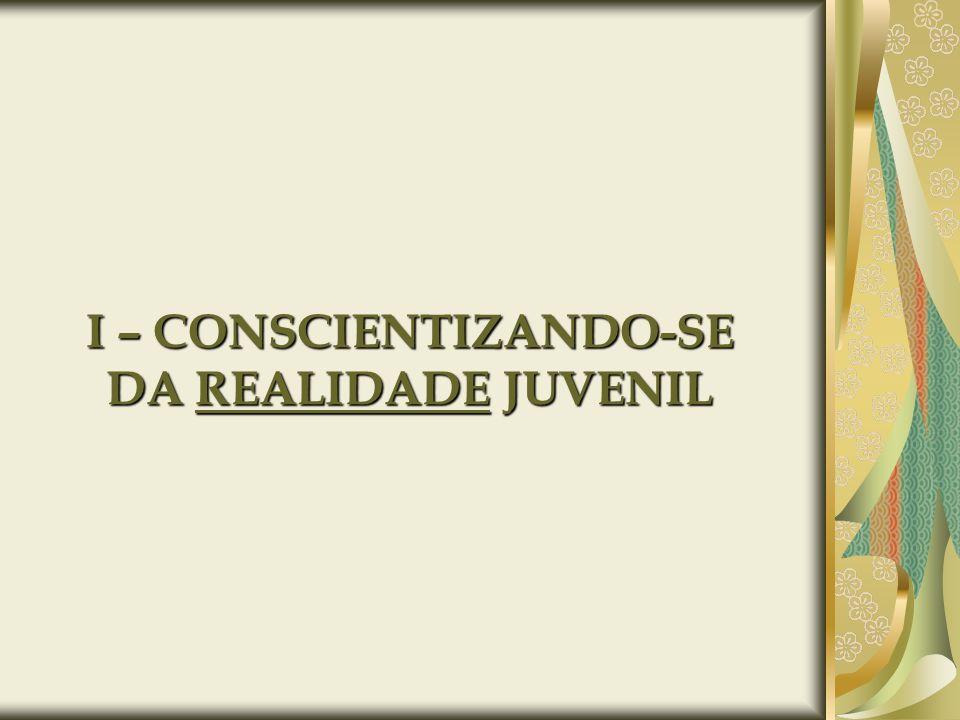 I – CONSCIENTIZANDO-SE DA REALIDADE JUVENIL