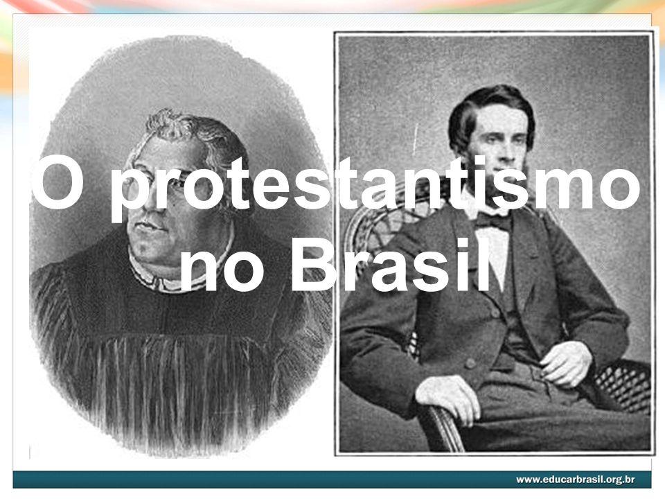 O termo protestante As bases da Reforma Protestante (século 16): crítica a alguns princípios do catolicismo.