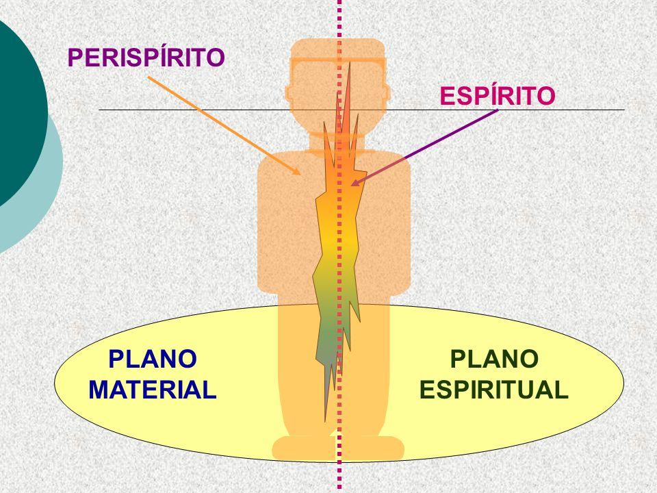 O perispírito é estruturado, ou seja, apresenta sistemas complexos (órgãos), compatíveis com sua finalidade. As energias e fluidos constituintes do pe