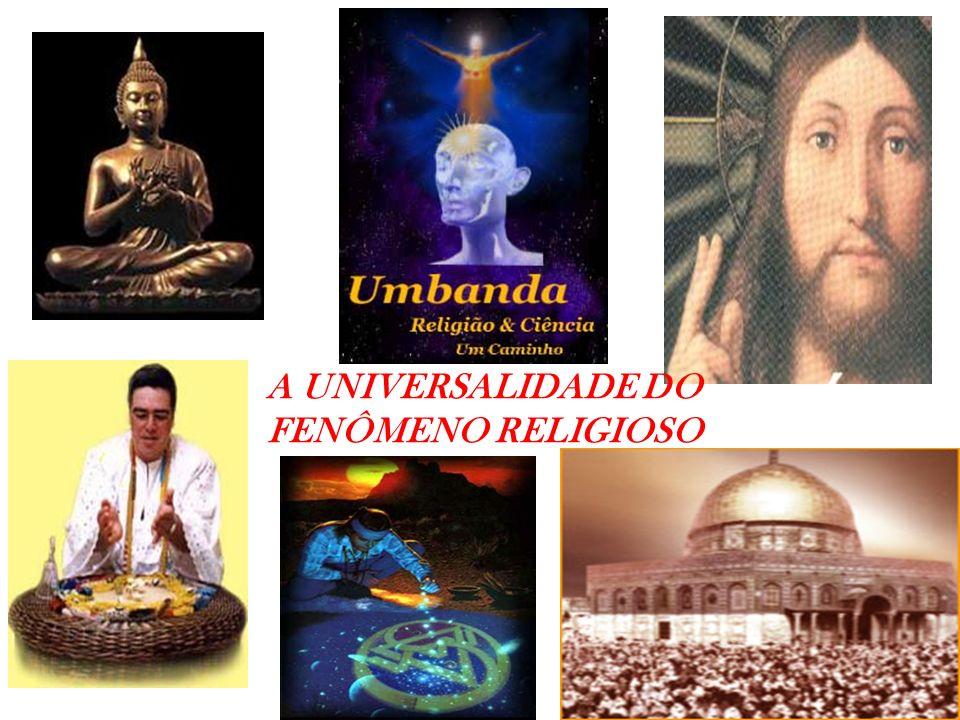 O FENÔMENO RELIGIOSO AS RELIGIÕES TÊM UM PASSADO MUITO LONGO.