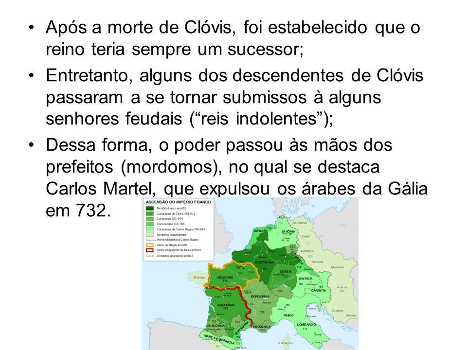 Após a morte de Clóvis, foi estabelecido que o reino teria sempre um sucessor; Entretanto, alguns dos descendentes de Clóvis passaram a se tornar subm