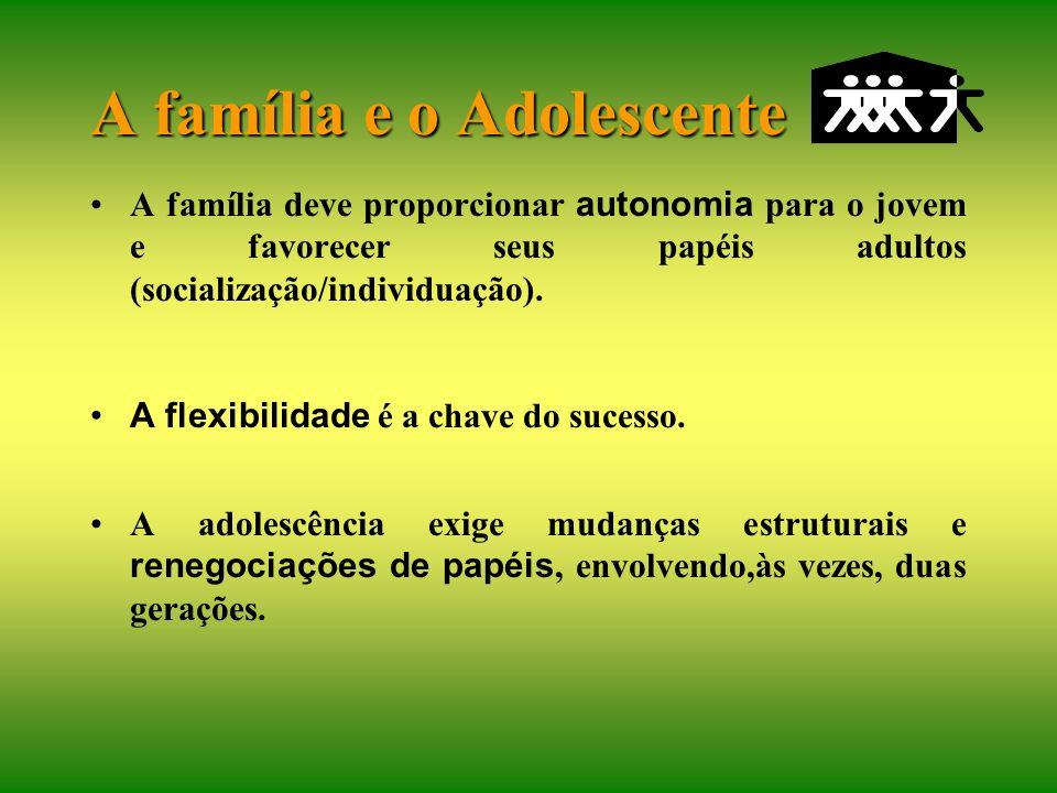 A adolescência é como um segundo parto: O filho nasce da família para entrar na sociedade