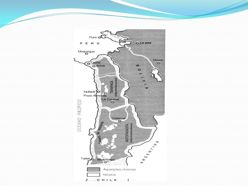 Atividades Econômicas após a Independência de 1818: A utilização do salitre como fertilizante e, ainda, como matéria-prima para a produção industrial de ácidos é objeto mais recente.