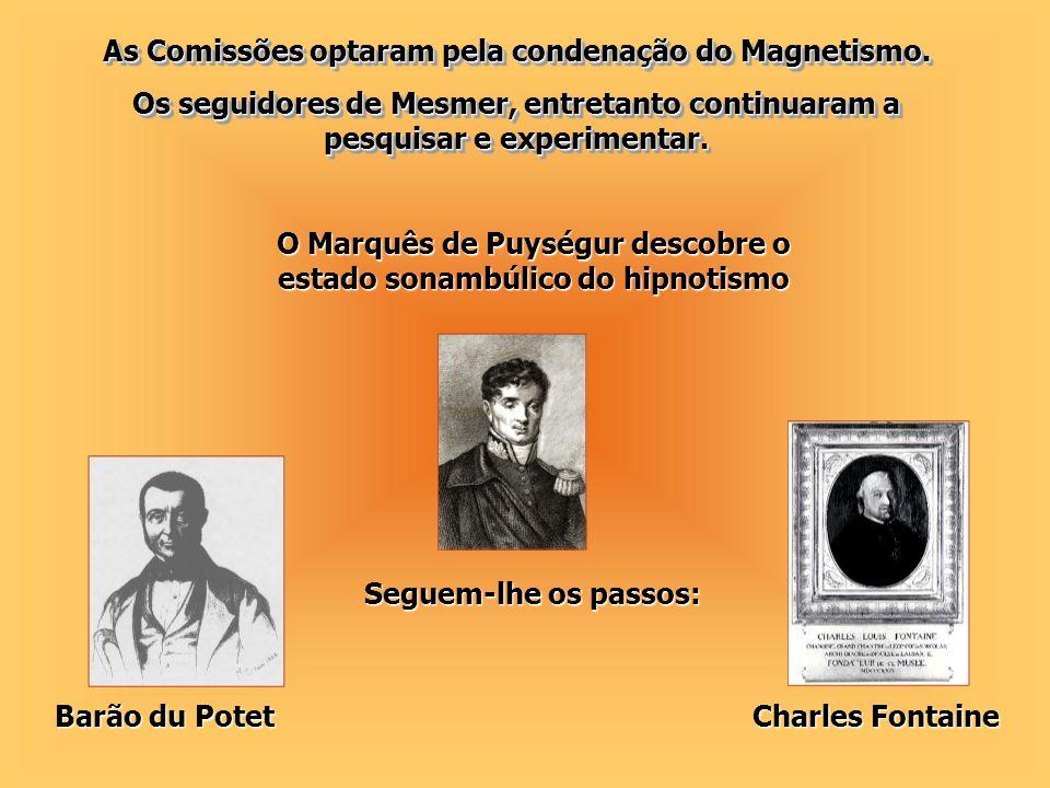 Outros pesquisadores seguiram-no: Charcot, Janet, Myers, Ochorowicz, Binet e outros.