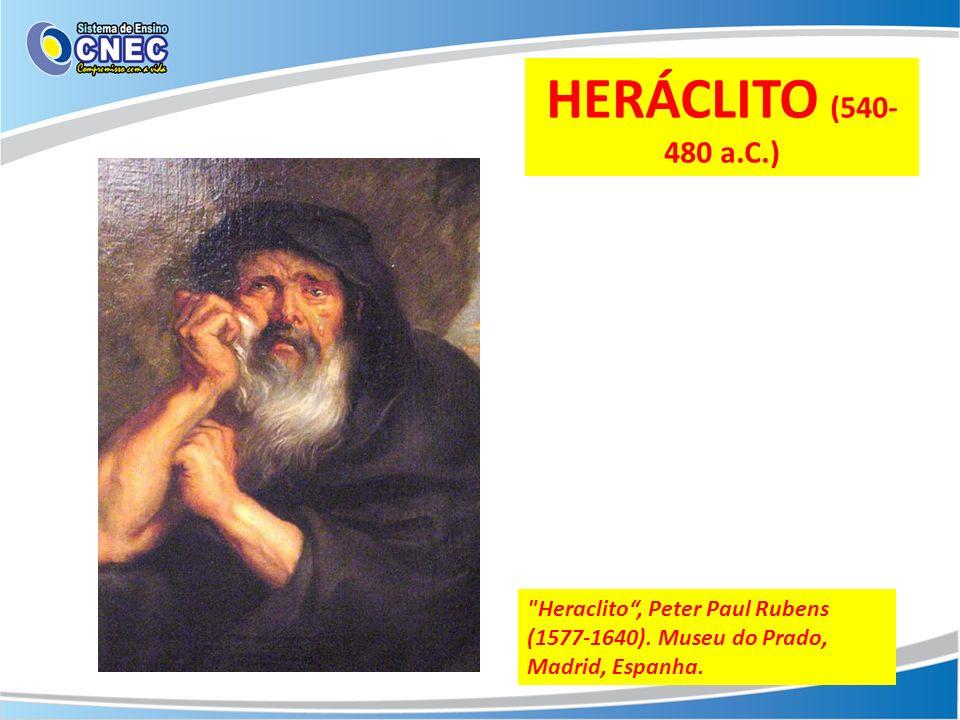 O PENSAMENTO DE HERÁCLITO PODE SER RESUMIDO NOS SEGUINTES ITENS: a) Toda realidade é dotada de dinamismo; O Ser é a realidade do devir.