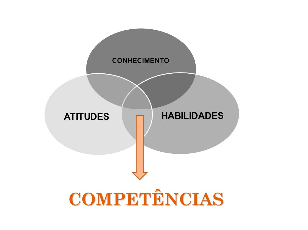 CONHECIMENTO HABILIDADESATITUDES COMPETÊNCIAS