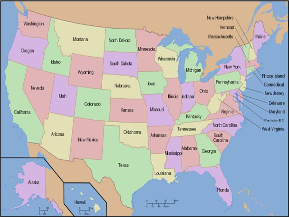 Estados Unidos da América 9,83 milhões de km² de área.