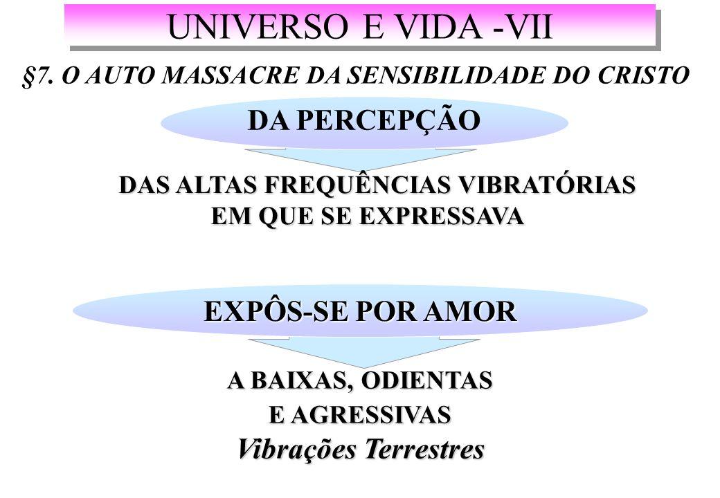 UNIVERSO E VIDA -VII §7.