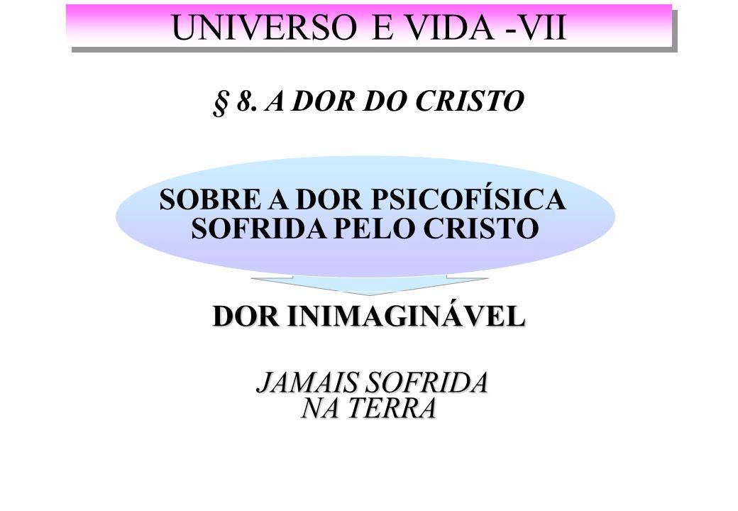 UNIVERSO E VIDA -VII § 8.