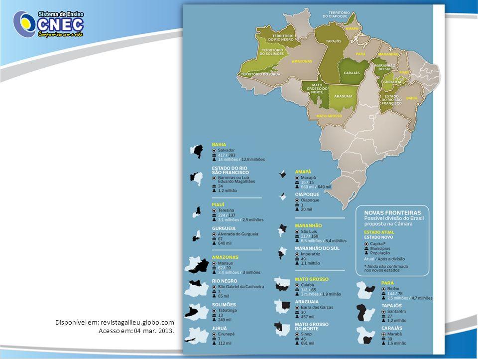 Disponível em: revistagalileu.globo.com Acesso em: 04 mar. 2013.