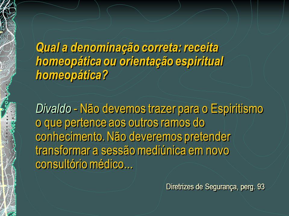 Pergunta: Como se processa o atendimento do paciente encarnado pela técnica do desdobramento apométrico? Dr. Lacerda: Uma vez garantida a assistência
