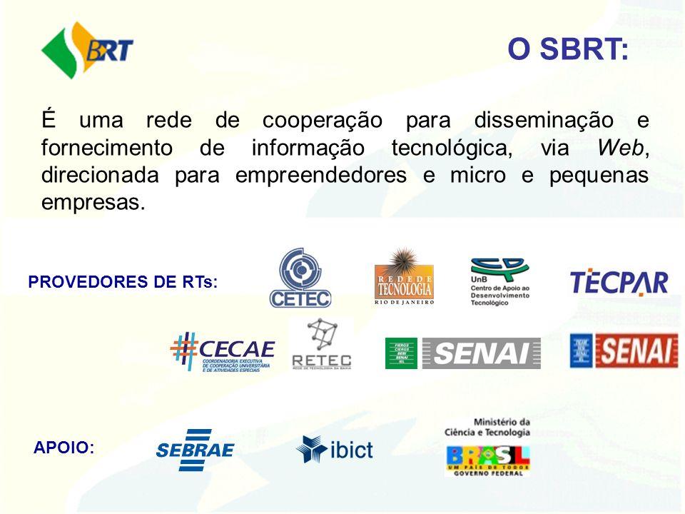 É uma rede de cooperação para disseminação e fornecimento de informação tecnológica, via Web, direcionada para empreendedores e micro e pequenas empre
