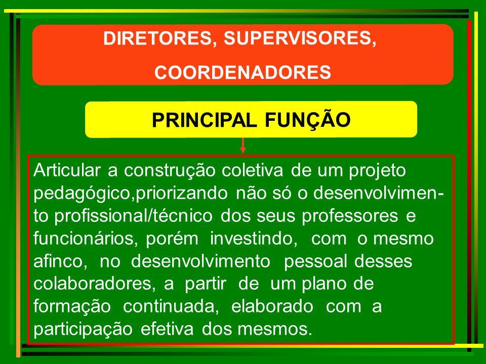 Conhecer e saber interpretar a legislação educa- cional, dando o suporte necessário à Direção da(s) escola(s).