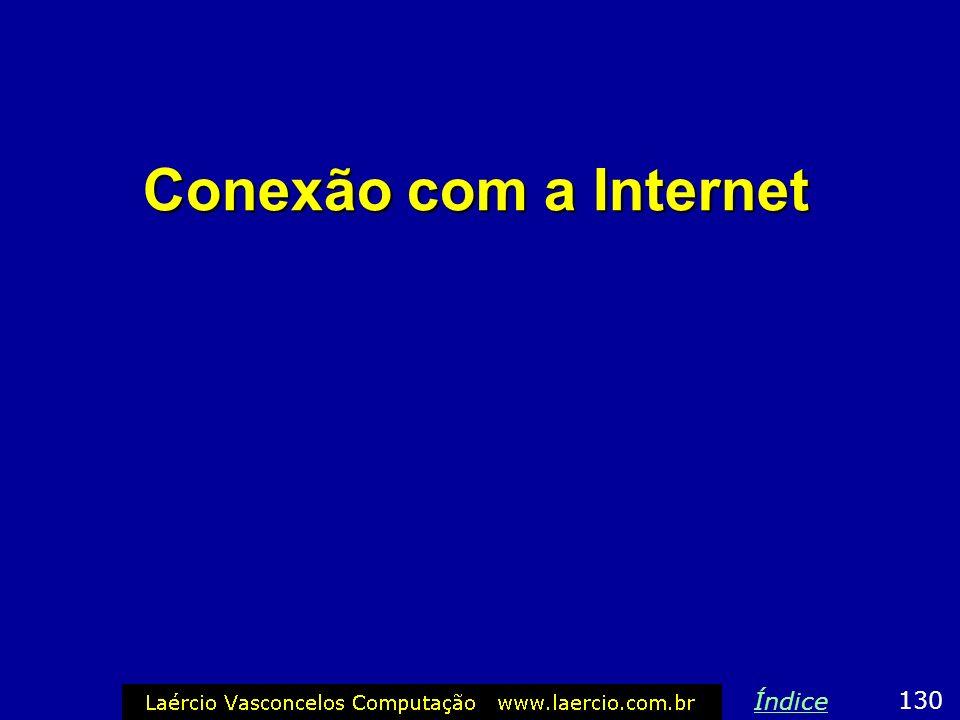 Conexão com a Internet 130 Índice