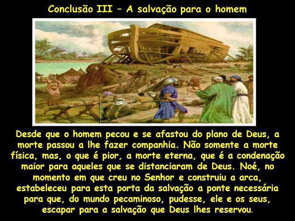 Desde que o homem pecou e se afastou do plano de Deus, a morte passou a lhe fazer companhia. Não somente a morte física, mas, o que é pior, a morte et