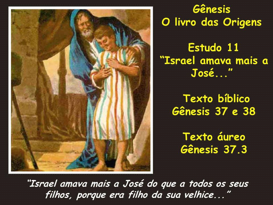 Gênesis O livro das Origens Estudo 11 Israel amava mais a José...