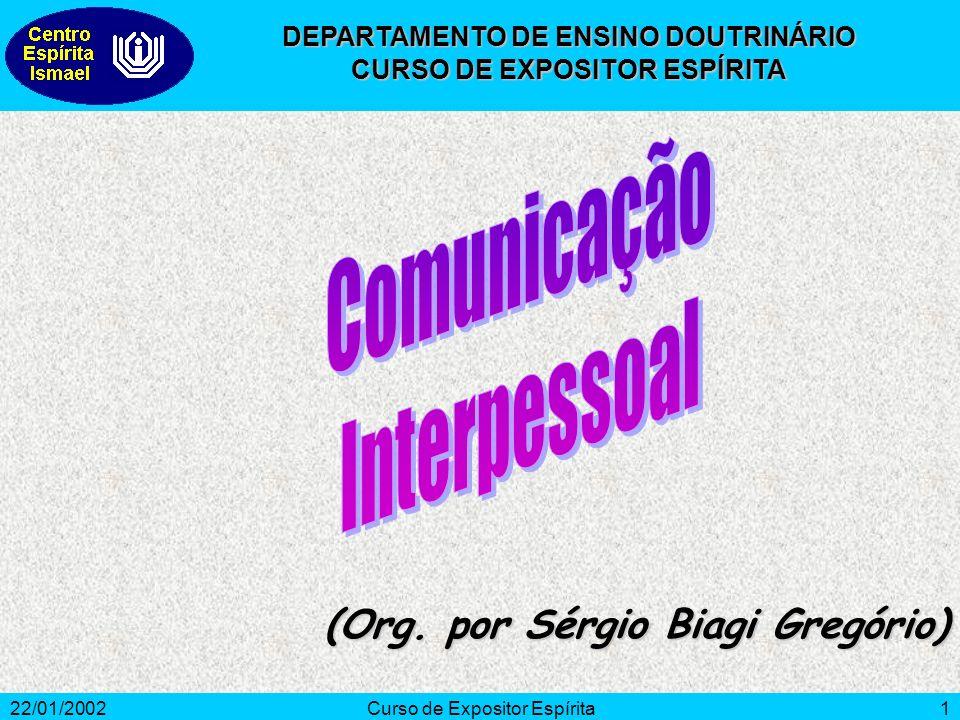 22/01/2002Curso de Expositor Espírita1 (Org.