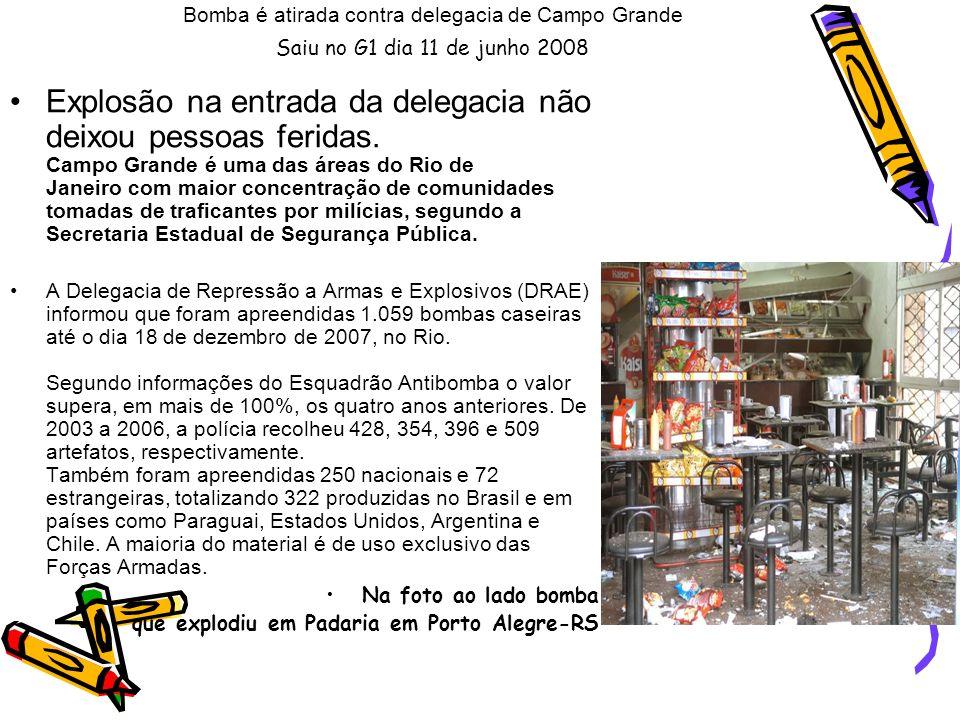 Polícia apreende 67 granadas na divisa RJ-SP A Polícia Rodoviária Federal apreendeu nesta quinta-feira (5) uma grande quantidade de armas, granadas e munições, no km 574 da Rodovia Rio-Santos, na divisa de Paraty com o estado de São Paulo, na região Sul Fluminense.