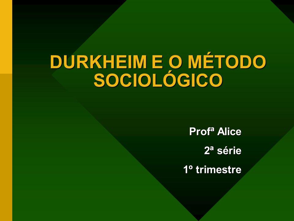Émile Durkheim Utilizou princípios científicos para comparar a sociedade humana a um organismo vivo.