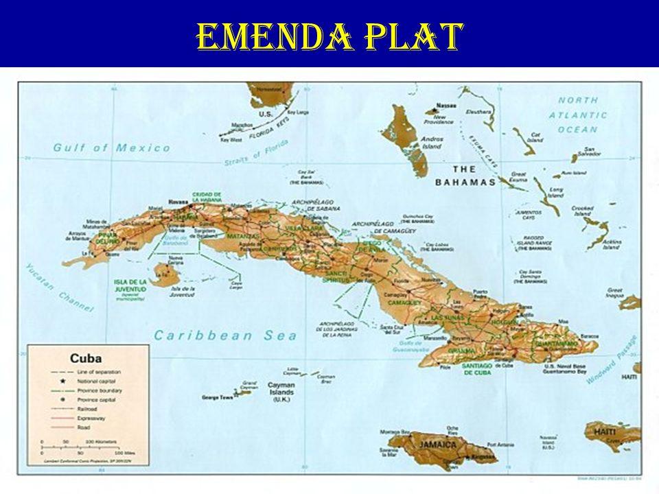 EMENDA PLAT