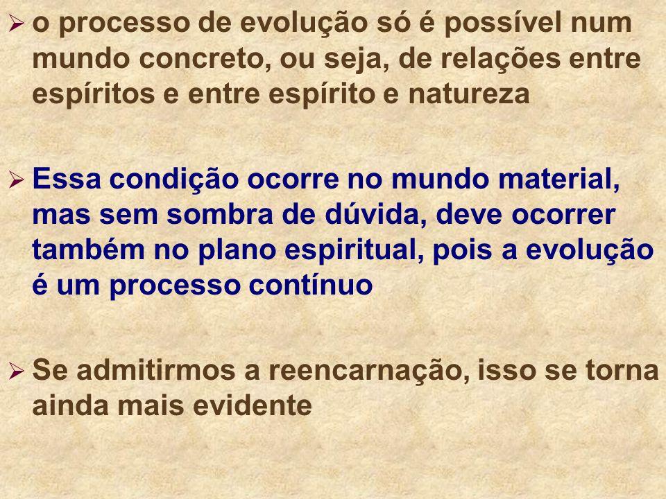 Assim sendo, o Espírito evolui constantemente, desde que foi criado por Deus, a partir da evolução do princípio inteligente. Assim sendo, o Espírito e
