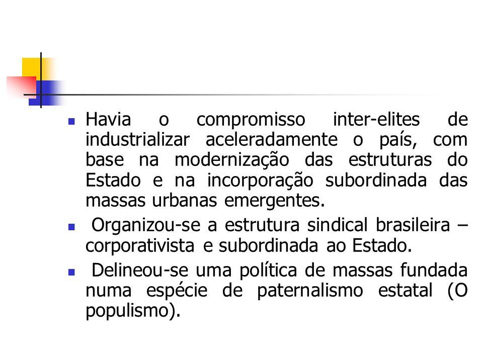 ANOS DE NOVIDADES O Brasil conhecerá duas Constituições: Uma, em 1934, elaborada por uma Assembléia Nacional e inspirada em procedimentos da República de Weimar; e outra em 1937, imposta arbitrariamente pelo poder e calcada na Carta Constitucional da Polônia fascista.