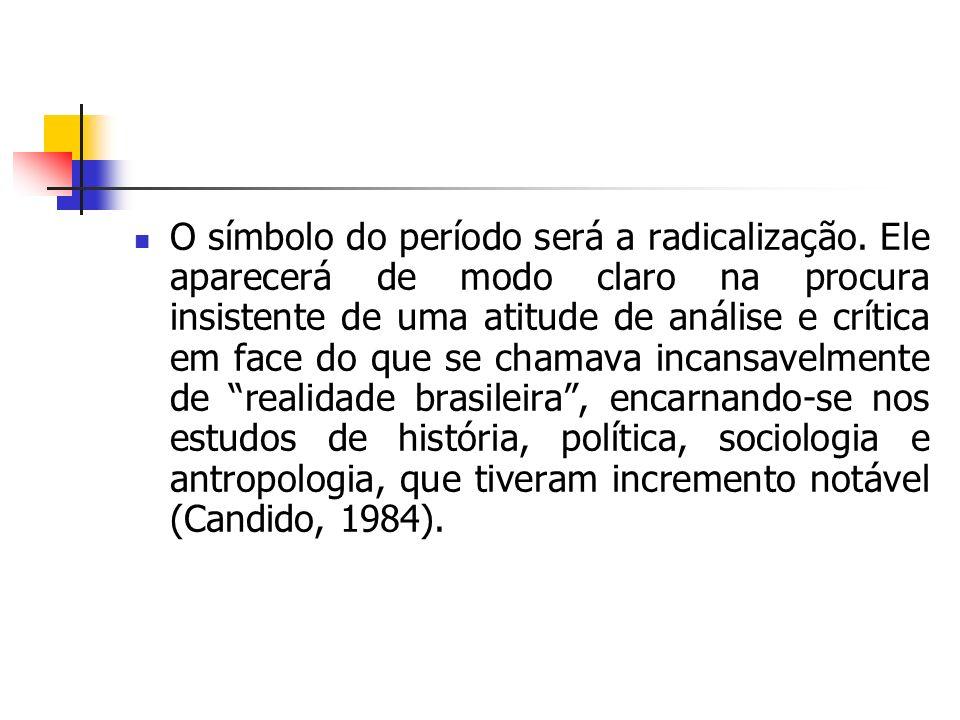 Após 1930, esboçou-se uma mentalidade mais democrática a respeito da cultura, que começou a ser vista pelo menos em tese, como direito de todos.