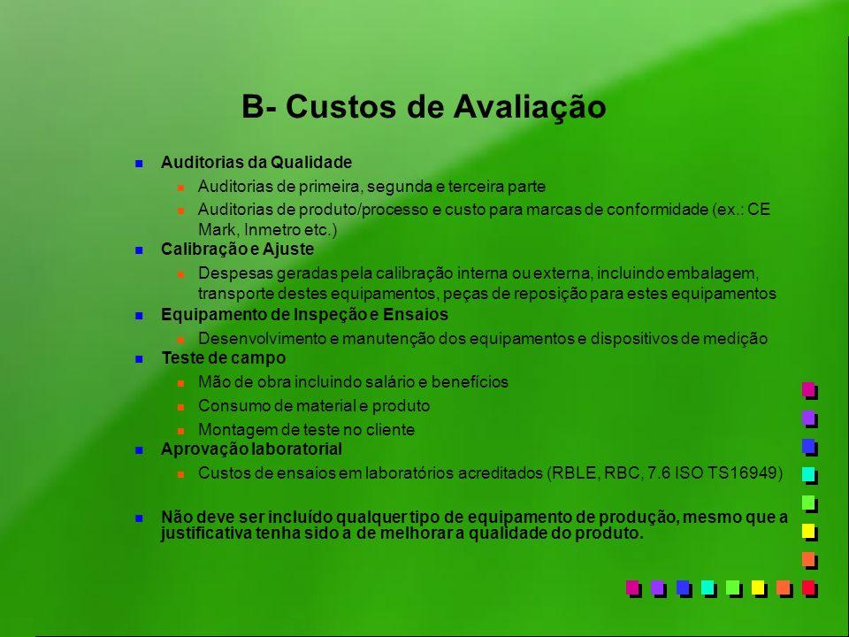 n Auditorias da Qualidade n Auditorias de primeira, segunda e terceira parte n Auditorias de produto/processo e custo para marcas de conformidade (ex.
