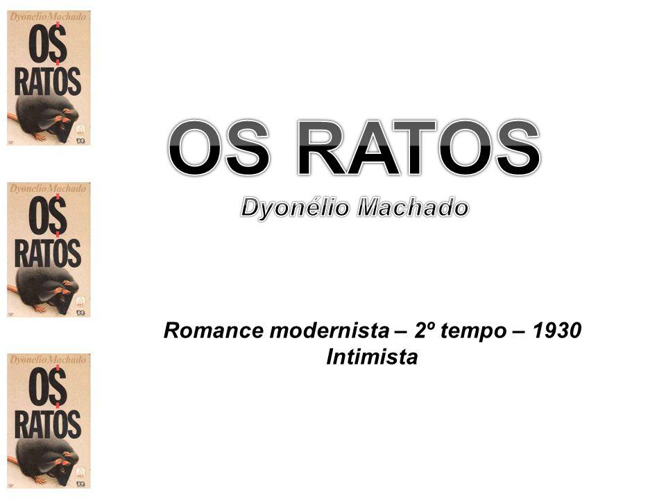 Romance modernista – 2º tempo – 1930 Intimista