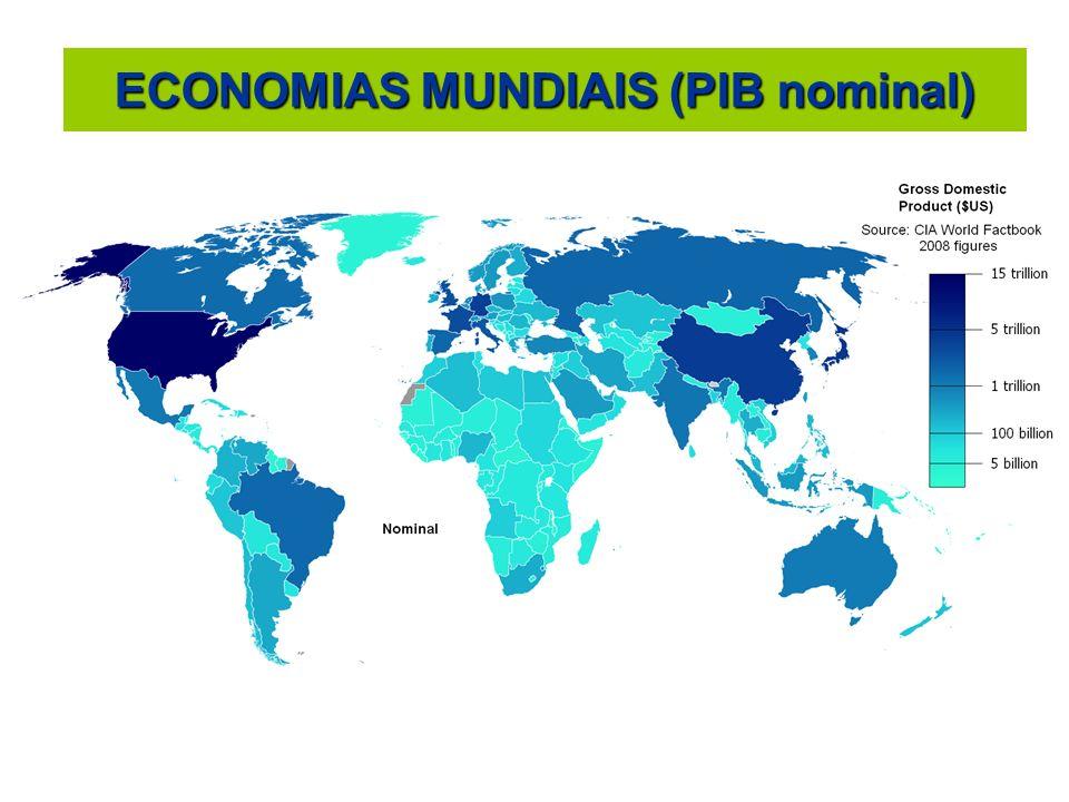 ECONOMIAS MUNDIAIS (PIB PPC)