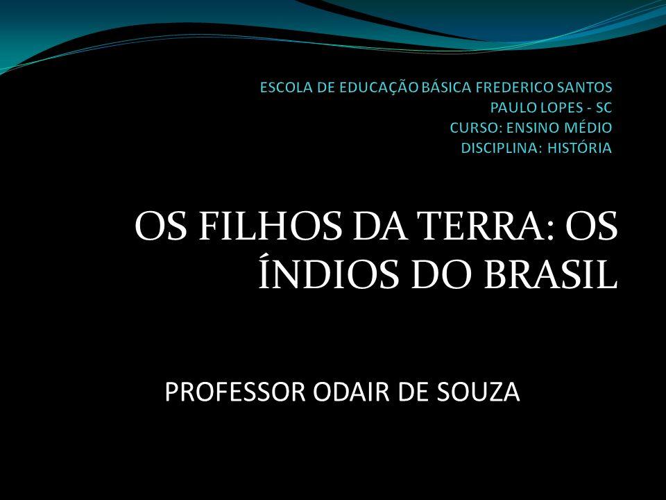 OS FILHOS DA TERRA: OS ÍNDIOS DO BRASIL PROFESSOR ODAIR DE SOUZA