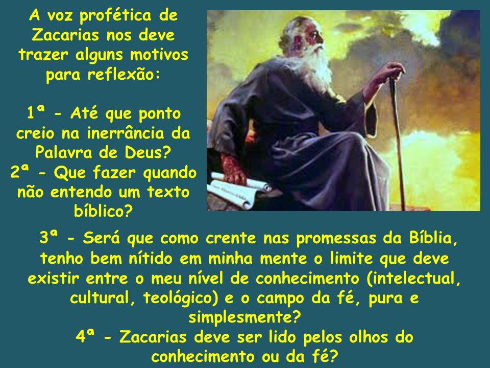 3ª - Será que como crente nas promessas da Bíblia, tenho bem nítido em minha mente o limite que deve existir entre o meu nível de conhecimento (intele