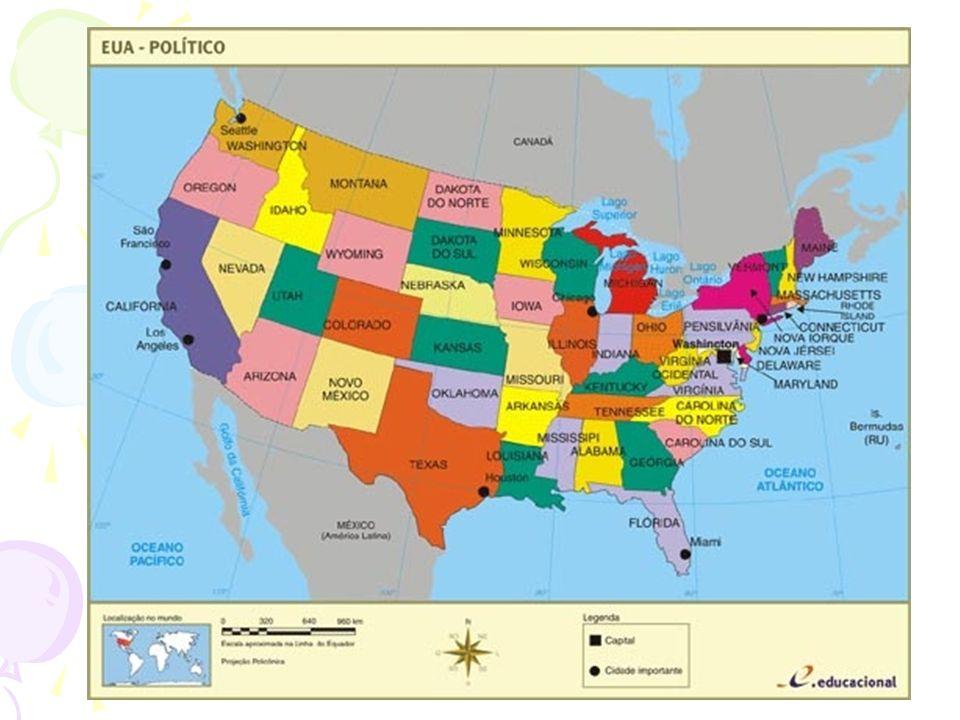 Enquanto isso na Europa, Napoleão invade e conquista terras; A imigração para o país cresce; Doutrina Monroe: A América para os americanos!; incentivo para as independências americanas; Conquistar terras indígenas (genocídio);