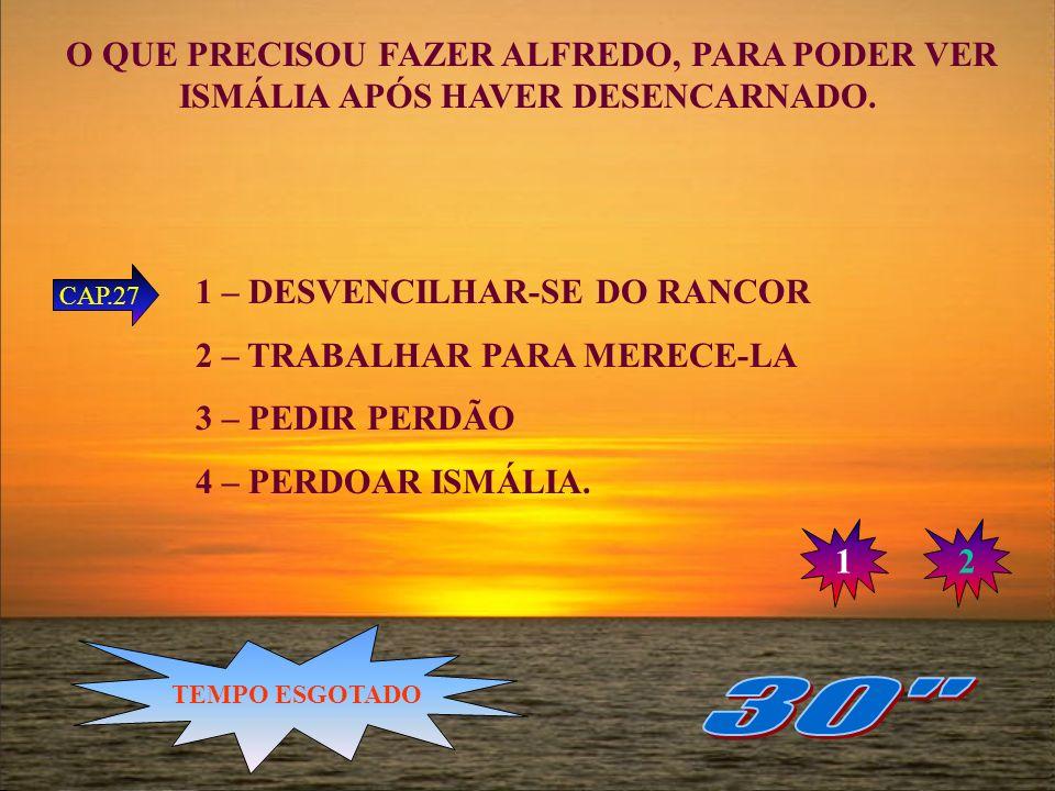 COMO PAULO CHEGOU AO POSTO DE SOCORRO? 1 – TRAZIDO POR ALFREDO 2 – TRAZIDO POR ISMÁLIA 3 – RECOLHIDO NO UMBRAL POR MISSIONÁRIOS 4 – RECOLHIDO QUANDO B