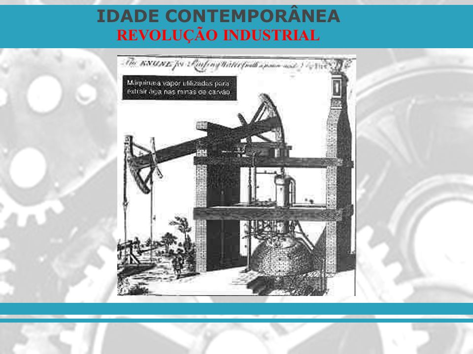 IDADE CONTEMPORÂNEA REVOLUÇÃO INDUSTRIAL O desenvolvimento da produção – Substituição do trabalho artesanal pelo trabalho mecanizado: 1.1.
